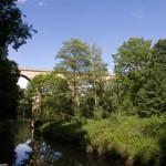 Most kolejowy przed Zgorzelcem