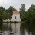 Kościół na wyspie pw. św. Jana Nepomucena