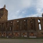 Fara w Gubinie. Obiekt został zniszczony podczas walk toczących się w tym mieście. Dopiero w 2005 roku postanowiono odbudować kościół. Powstaniem w nim kulturalne centrum spotkań polsko-niemieckich.