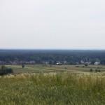Rozległa panorama przed Suścem