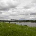 Nieczynny most na Odrze