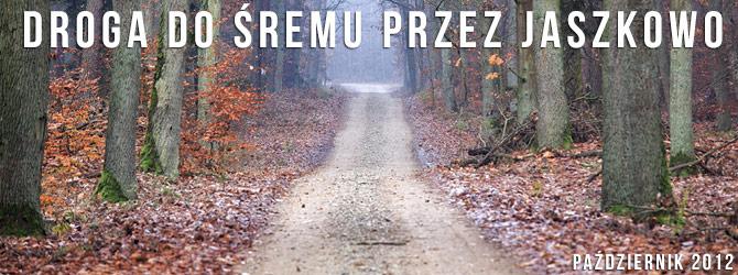 Droga do Śremu przez Jaszkowo