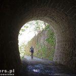 Wreszcie pojawił się pierwszy tunel Motovun (222m). Niestety nie jest oświetlony ale na szczęście nawierzchnia jest w miarę równa.