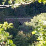 Wiadukt Freski- długość 68,5m wysokość 30m