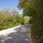W drodze do Labina przez Górny Rabac