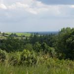 Rozległa panorama w okolicy Lipowca