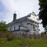 Późnobarokowy kościół w Tarnogrodzie