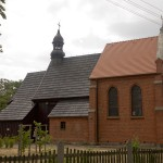 Murzynowo Kościelne. Kościół drewniany z 1739-42, poszerzony w 1900r