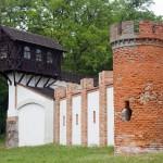 Bugaj. Fragment zamku myśliwskiego 'Bażantaria