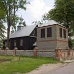 Białków Kościelny. Drewniany kościół Św. Stanisława Biskupa z 1809 r