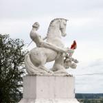 Marcinkowo Górne. Pomnik upamiętniający mord na księciu Leszku Białym
