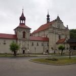 Barokowy kościół i klasztor