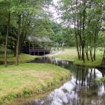 Drewniana kaplica objawień tzw. kaplica na wodzie