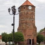 Żnin – wieża ratuszowa z XVw
