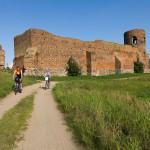 Zamek wzniesiony przez Kazimierza Wielkiego z poł. XIV w