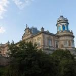 Kościelec. Elektyczny pałac wzniesiony po 1830 r