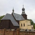 Stary Gołębin. Drewniany kościół Wniebowzięcia NMP z 1670r