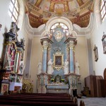 Lubiń – wnętrze klasztoru benedyktynów. Klasztor został wzniesiony w 1617 r.