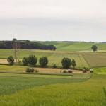 Pagórkowaty krajobraz