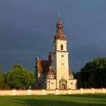 Smolice – neobarokowy kościół z 1907-09