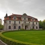 Smolice – neobarokowy pałac z ok 1910