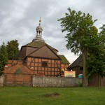 Jutrosin – szachulcowy kościół cmentarny z 1777 r