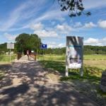 Mostek łączący Wydrzany i Kamminke