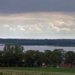 Panorama z wieży widokowej w Neu Sallenthin