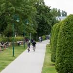 Droga rowerowa wzdłuż promenady
