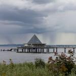 Molo w Heringsdorf. Mierzy 508 m długości, niegdyś najdłuższe nad Bałtykiem