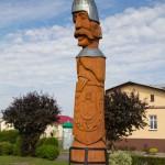 Rycerz Pakosław założyciel osady