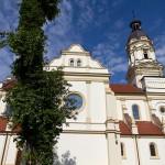 Golejewko. Neobarokowy kościół Wszystkich Świętych z 1900-03