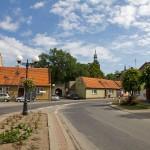 Miejska Górka – jedna z uliczek