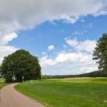 Pola golfowe przed Korswandt