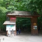 Brama wejściowa do Parku Narodowego