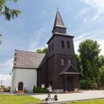 Zakrzewo. Drewniany kościół św. Klemensa z ok. 1610 r