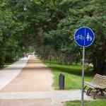 Droga pieszo-rowerowa a Ahlbeck