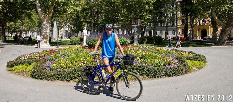 Zagrzeb na rowerze