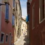 Ciche i spokojne uliczki Labina