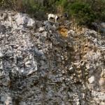 Robiąc poprzednie zdjęcie za plecami usłyszeliśmy spadające kamienie, jak się okazało zrzucane były przez kozy!