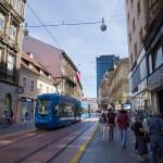 A tramwaje mają kolor niebieski – podobnie jak we Wrocławiu