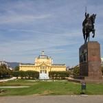 Pomnik króla Tomisława – uważanego za pierwszego koronowanego władcę Chorwacji