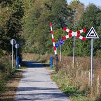 Trasą dawnej kolejki wąskotorowej. Milicz - Sułów.