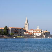 Poreć - miasteczko Istrii
