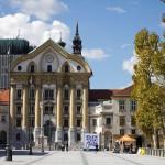 Uršulinska Cerkev Svete Trojice – Kościół Świętej Trójcy Parafia w Lublanie