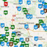 Mapa atrakcji w Wielkopolsce na naszych szlakach rowerowych