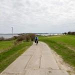 W drodze na półwysep Reddevitzer Höft