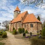 Middelhagen kościół św Katarzyny z 1455 r