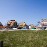 Nowe domy kryte strzechą