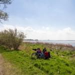 Kolejny postój na łyk herbaty i widok na Stralsund